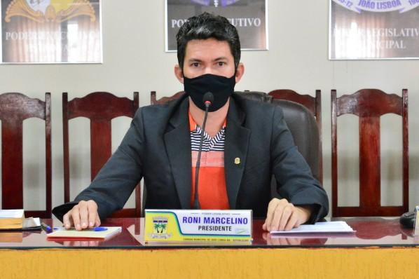 Vereador Roni Marcelino solicita o cercamento do cemitério do assentamento Lagoa da Cigana